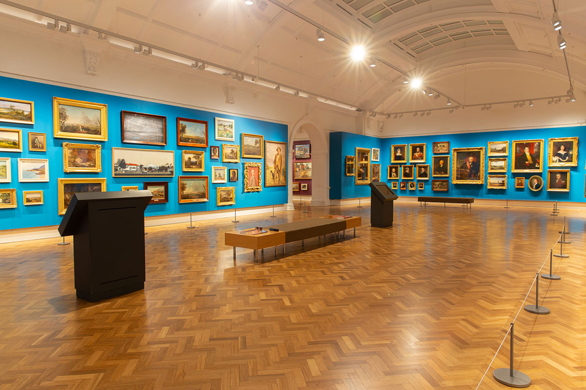 Galleries - State Library of NSW Sydney Veneu