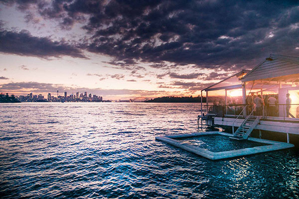 Island Pool Sydney Harbour