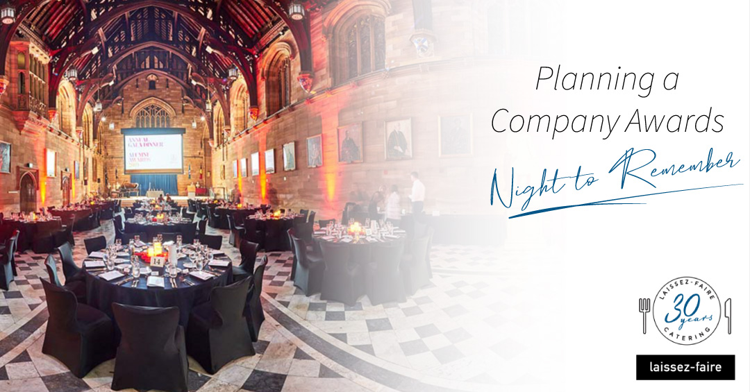 Planning a Company Awards Night Sydney