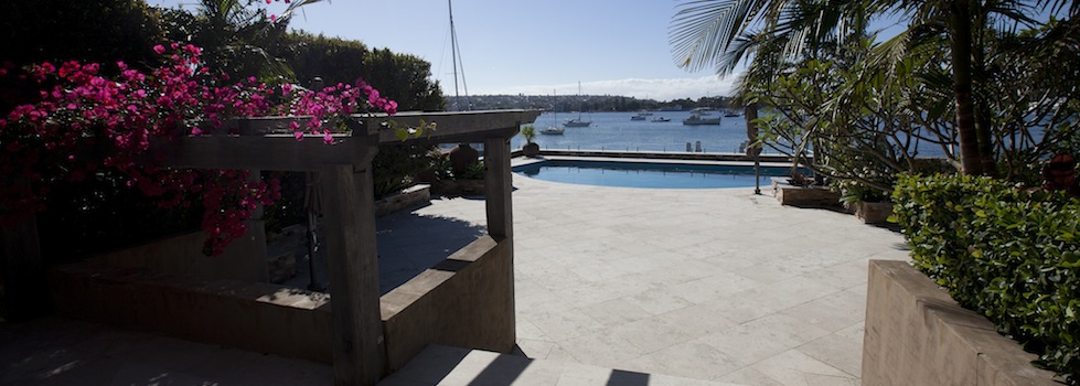 Private Home Point Piper Pool