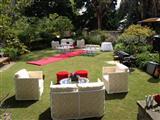 Lion Gate Lodge Wedding set up